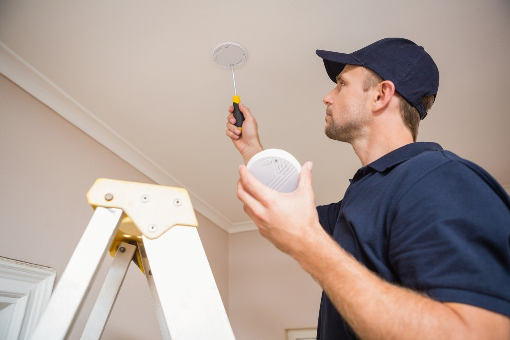 Installation of a Carbon Monoxide Alarm